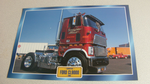 Ford CL9000 1980 Truck framed picture
